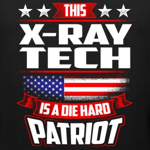 4th Of July X-Ray Tech Die Hard  Patriot Gift Sportswear - Men's Premium Tank