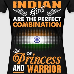 Indian Girls Are The Perfect Combination Of Prince T-Shirts - Women's Premium T-Shirt