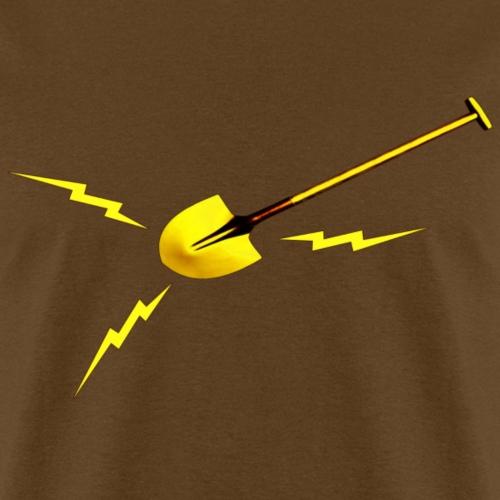 Dr. Amp's Gold Shit Digging Shovel [Twin Peaks]
