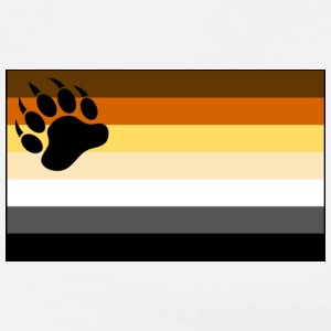 Gay Bear Pride Flag - Men's Premium T-Shirt