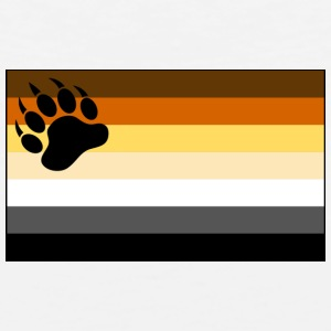 Gay Bear Pride Flag - Men's Premium Tank
