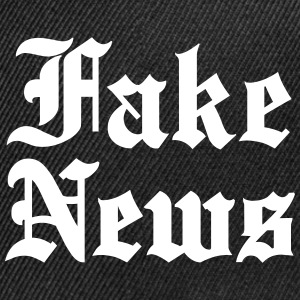 Fake News Sportswear - Snap-back Baseball Cap