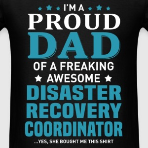 Disaster Recovery Coordinator's Dad - Men's T-Shirt