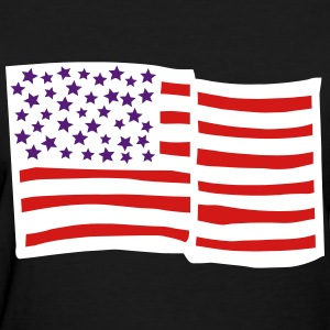 USA Flag Filled T-Shirts - Women's T-Shirt
