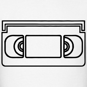 VHS Tape T-Shirts - Men's T-Shirt