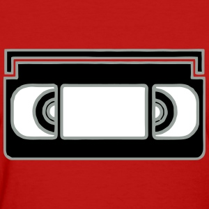 VHS Tape Filled T-Shirts - Women's T-Shirt