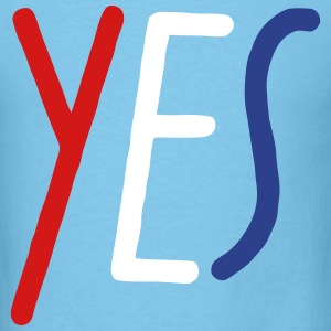YES T-Shirts - Men's T-Shirt
