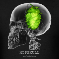 Design ~ HOPSKULL Men's T-Shirt