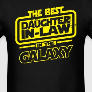 The Best Daughter In Law In The Galaxy T-Shirts - Men's T-Shirt