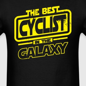 The Best Cyclist In The Galaxy T-Shirts - Men's T-Shirt