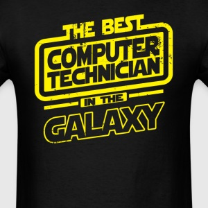 The Best Computer Technician In The Galaxy T-Shirts - Men's T-Shirt