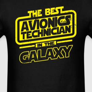 The Best Avionics Technician In The Galaxy T-Shirts - Men's T-Shirt