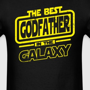 The Best Godfather In The Galaxy T-Shirts - Men's T-Shirt