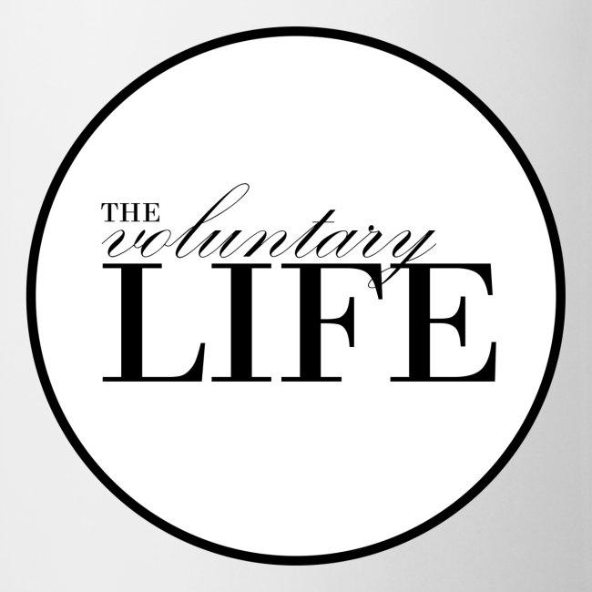 White Voluntary Life Mug