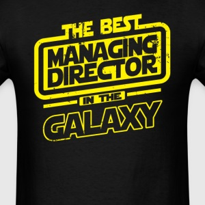 The Best Managing Director In The Galaxy T-Shirts - Men's T-Shirt