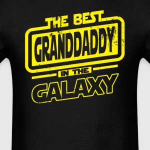 The Best Granddaddy In The Galaxy T-Shirts - Men's T-Shirt