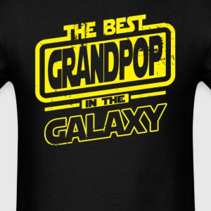 The Best Grandpop In The Galaxy T-Shirts - Men's T-Shirt