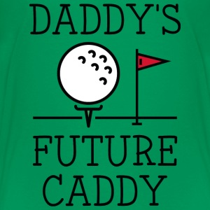 Daddy's Future Caddy - Kids' Premium T-Shirt
