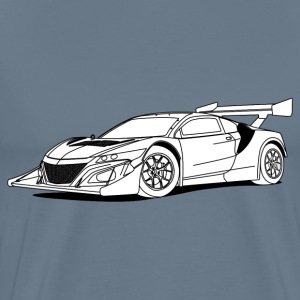 Concept Car White T-Shirts - Men's Premium T-Shirt