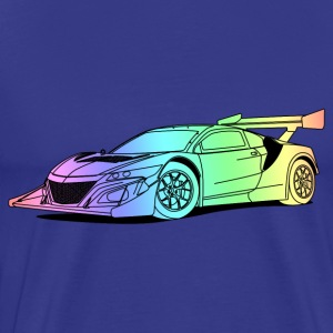 Concept Car Colourful T-Shirts - Men's Premium T-Shirt