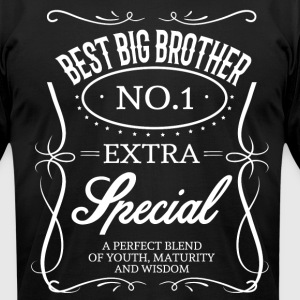 BEST BIG BROTHER T-Shirts - Men's T-Shirt by American Apparel
