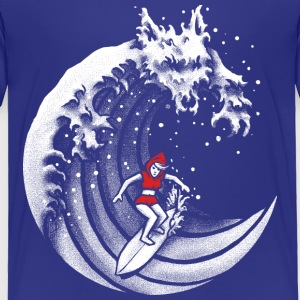 Little Red Surfing Hood Baby & Toddler Shirts - Toddler Premium T-Shirt