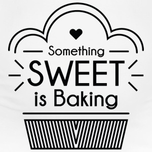 Something Sweet Is Baking - Women's Maternity T-Shirt