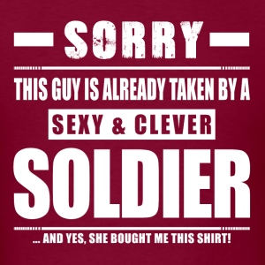 Guy Taken - Soldier Shirt Gift T-Shirts - Men's T-Shirt