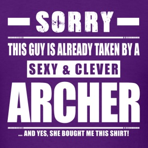 Guy Taken - Archer Shirt Gift T-Shirts - Men's T-Shirt