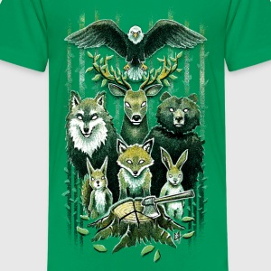 FoRest In Peace Kids' Shirts - Kids' Premium T-Shirt