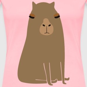 Fat capybara - Women's Premium T-Shirt