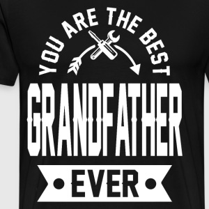 grandfather 1b.png T-Shirts - Men's Premium T-Shirt
