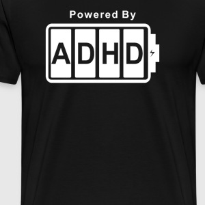 Battery Powered ADHD - Men's Premium T-Shirt