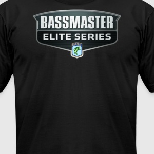 Bassmaster Bass Fishing  - Men's T-Shirt by American Apparel