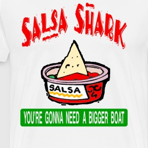 Clerks - Salsa Shark T-Shirts - Men's Premium T-Shirt