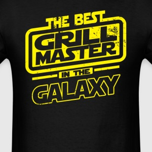 The Best Grill Master In The Galaxy T-Shirts - Men's T-Shirt