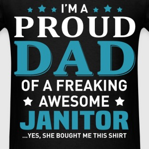 Janitor's Dad - Men's T-Shirt