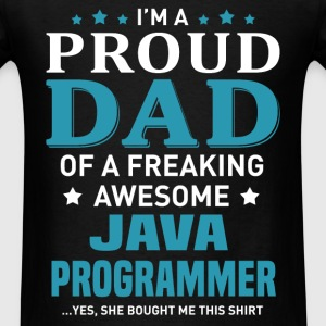 Java Programmer's Dad - Men's T-Shirt