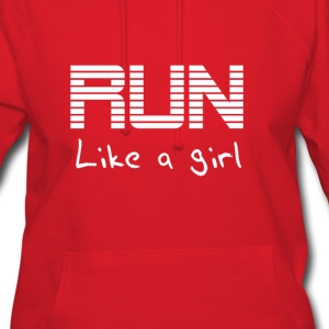 Run like a girl Hoodies - Women's Hoodie
