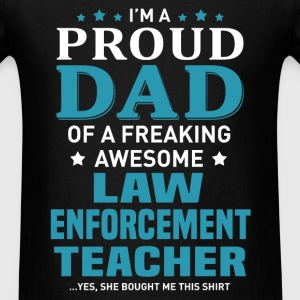 Law Enforcement Teacher's Dad - Men's T-Shirt