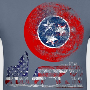 WOLF PACK TENNESSEE T-Shirts - Men's T-Shirt