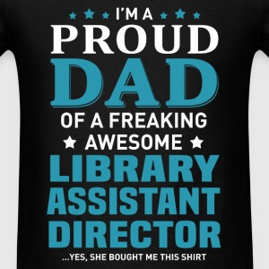 Library Assistant Director's Dad - Men's T-Shirt