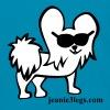 Kids Jeanie the 3-Legged Dog (white graphic) - Kids' T-Shirt