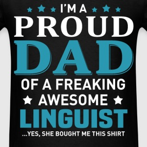 Linguist's Dad - Men's T-Shirt