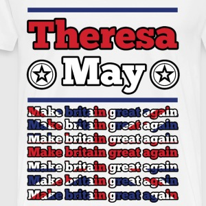 theresa 1a.png T-Shirts - Men's Premium T-Shirt