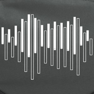 Piano Sound Wave Bags & backpacks - Computer Backpack