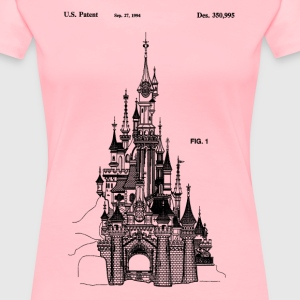 Princess Castle Patent - Women's Premium T-Shirt