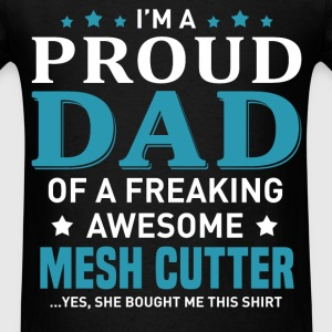 Mesh Cutter's Dad - Men's T-Shirt