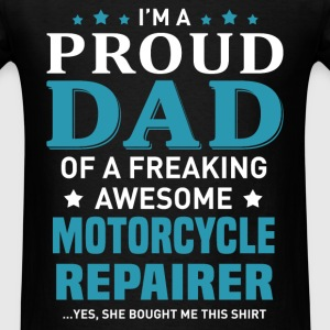 Motorcycle Repairer's Dad - Men's T-Shirt
