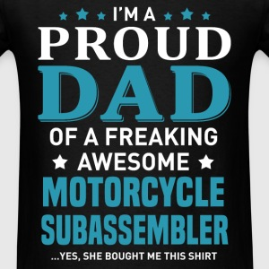 Motorcycle Subassembler's Dad - Men's T-Shirt